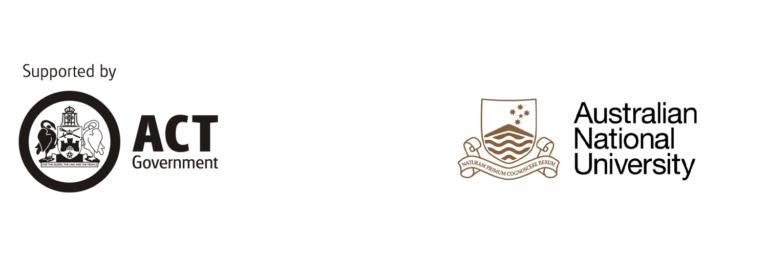 ACT Govt & ANU logos