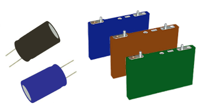 Cylindrical and prismatic versions of lithium-ion capacitors