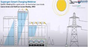 Supergen Smart Charging webinar screen grab