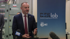 Andrew Barr, Chief Minister, ACT Government